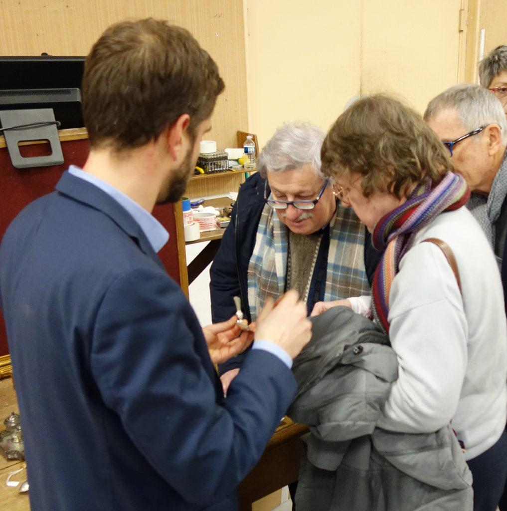 L'AOVi en visite chez Vichy Enchères