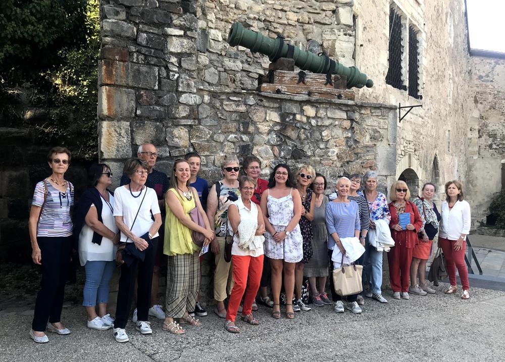 Visite du musée et des souterrains de Cusset pour nos adhérents