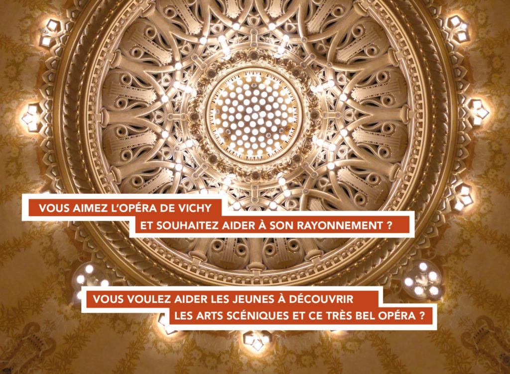 Réjoignez l'assciation les Amis de l'Opéra de Vichy !